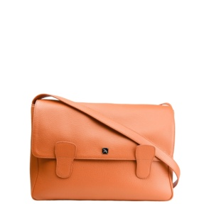 Alexandra Orange Messenger Bag