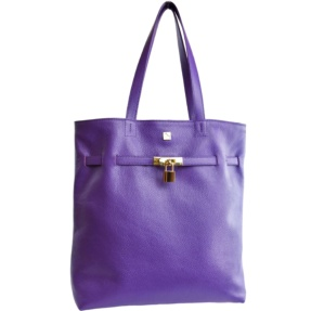 Alicia Bolso Shopper Morado