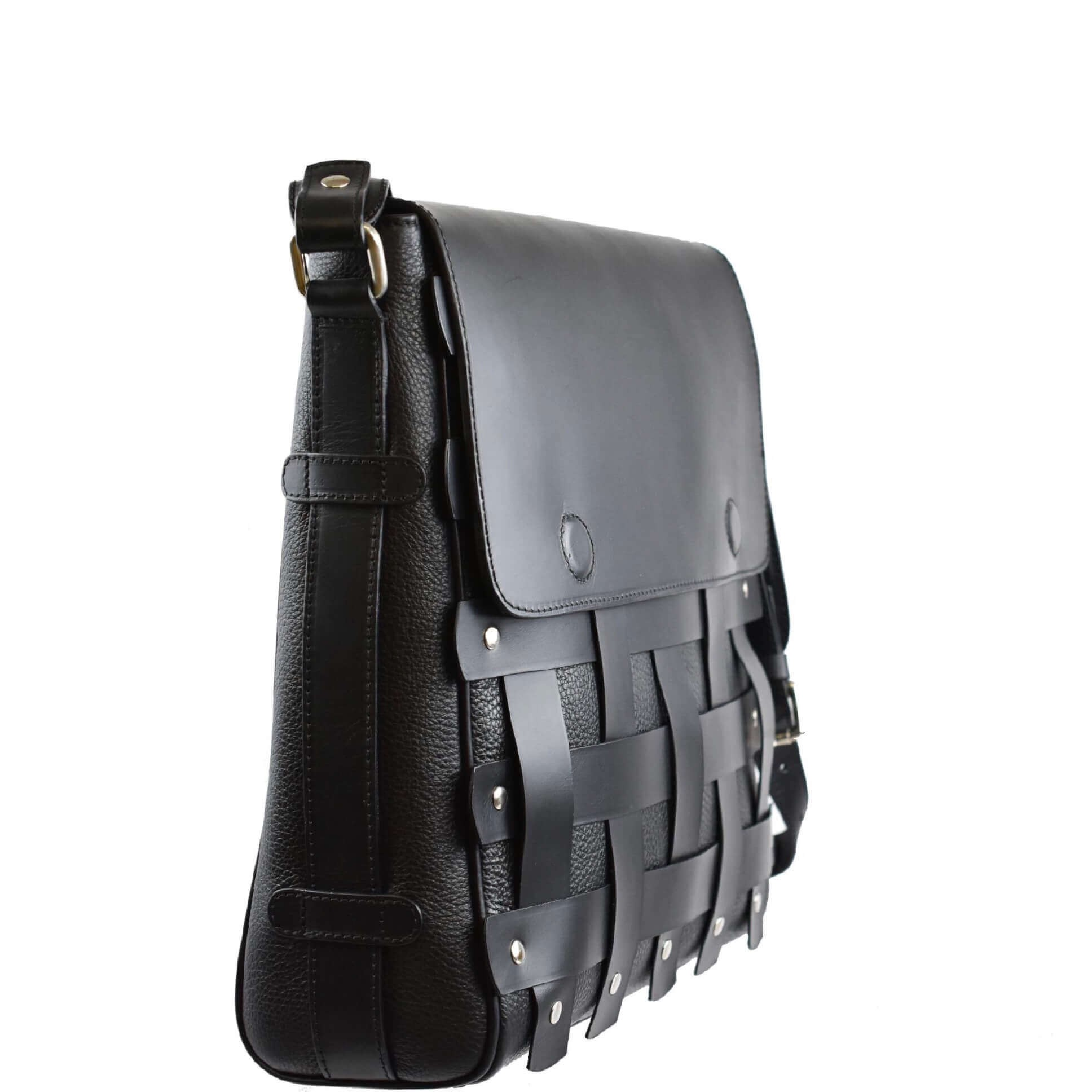 Black Crossbody Bag. Apolo