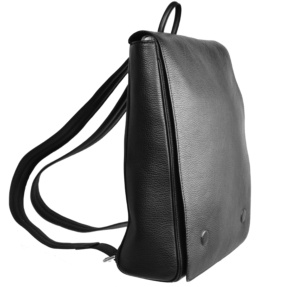 Black Backpack Bag. Atenea