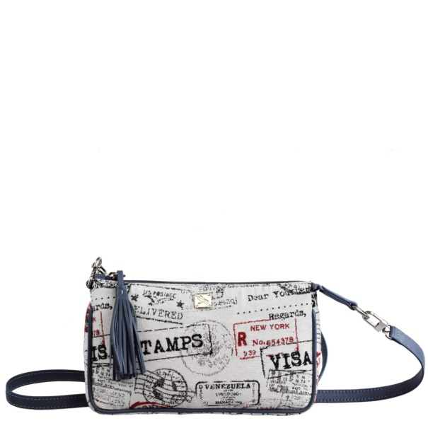 Canvas Crossbody Bag. Bea - Leather bags | TARA´S