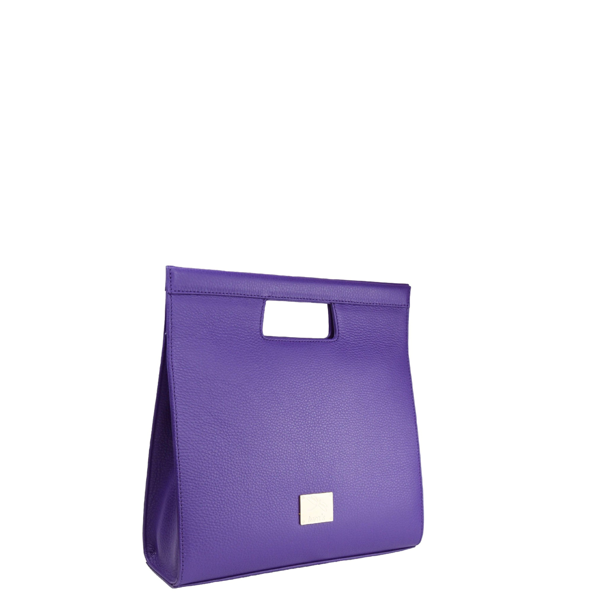 Chicago Bolso Rigido Morado
