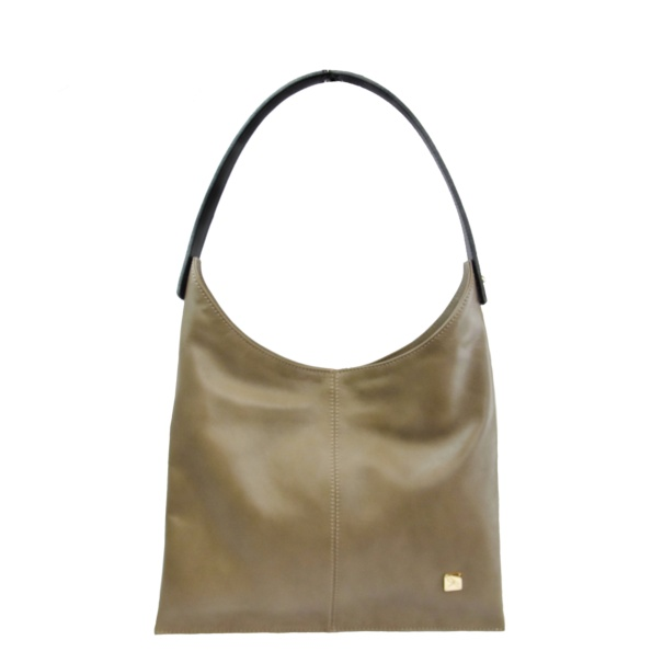 Taupe Hobo Bag - Leather Handbags | TARA´S