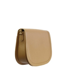 Beige Crossbody. Damas
