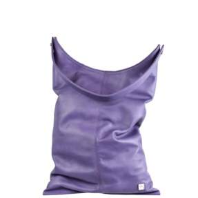 Lavender Large Hobo Bag - Leather Handbags | TARA´S