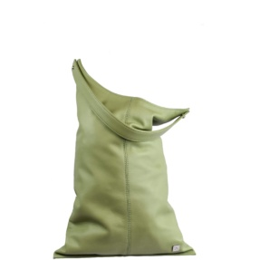 Mint Green Large Hobo Bag - Leather Handbags | TARA´S