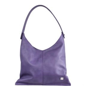 Lavender Hobo Bag - Leather Handbags | TARA´S