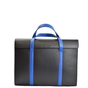 Black & Blue Briefcase. Executive