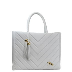 white leather tote bag tara's mallorca