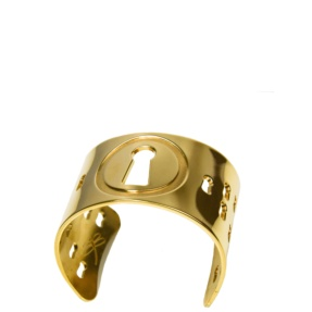 Gold Plated Brass bracelet Cuff