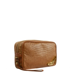 Brown Make up Bag