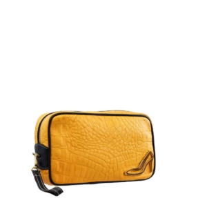 Yellow Make up Bag