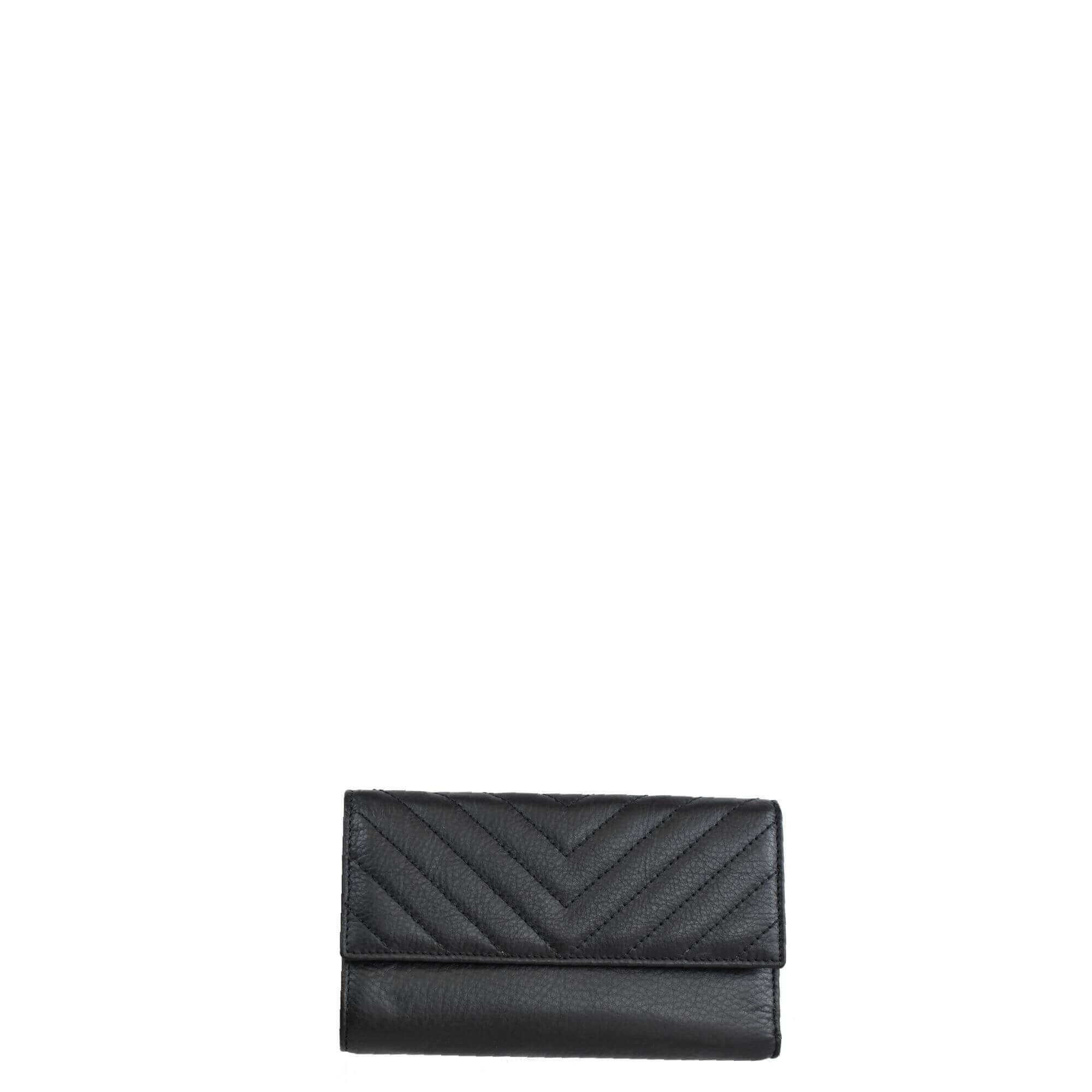 Leather Black Wallet