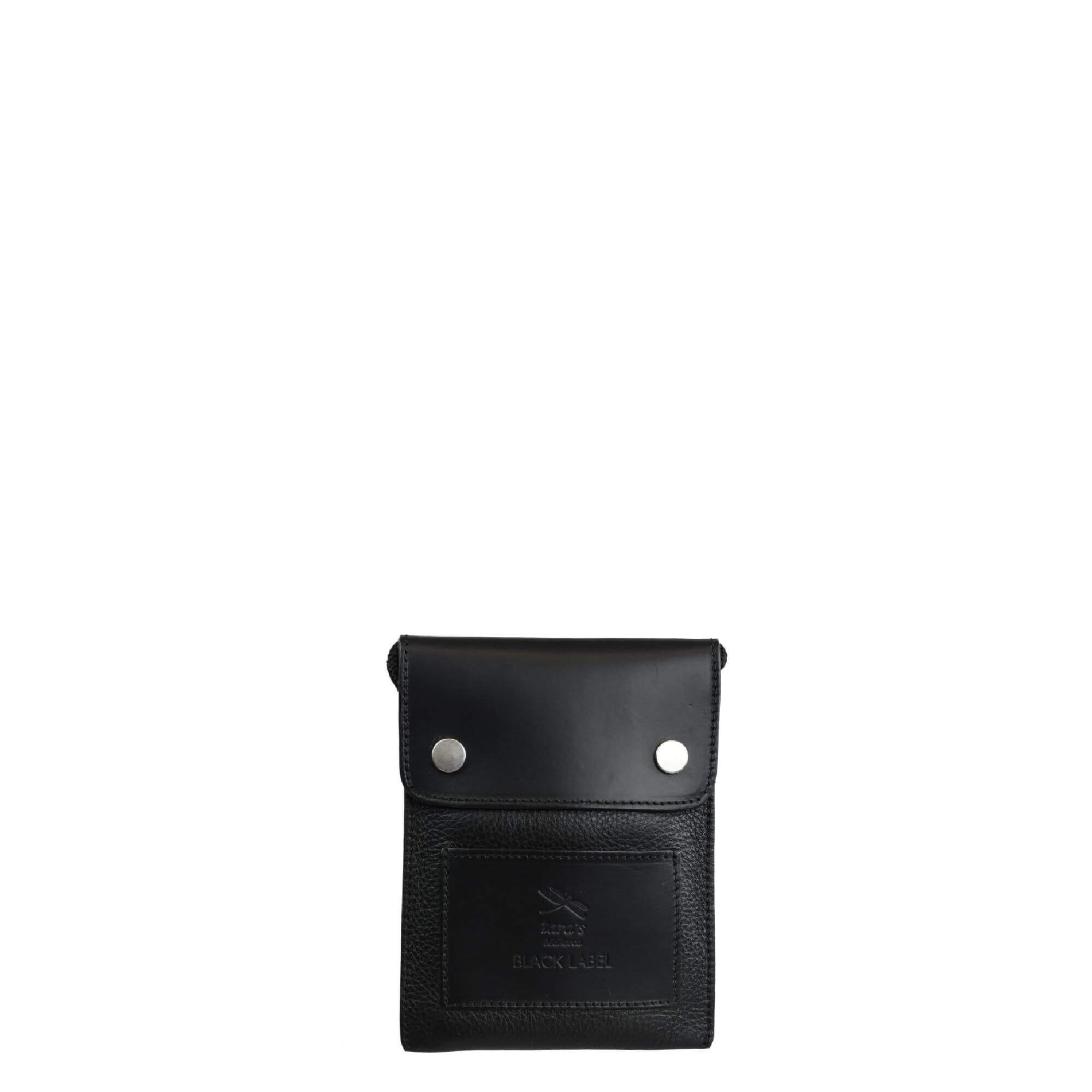 Black Mini Crossbody. Perseo