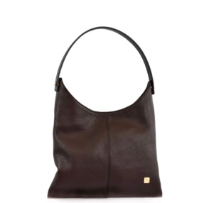 Chocolate Brown Hobo Bag - Leather Handbags | TARA´S