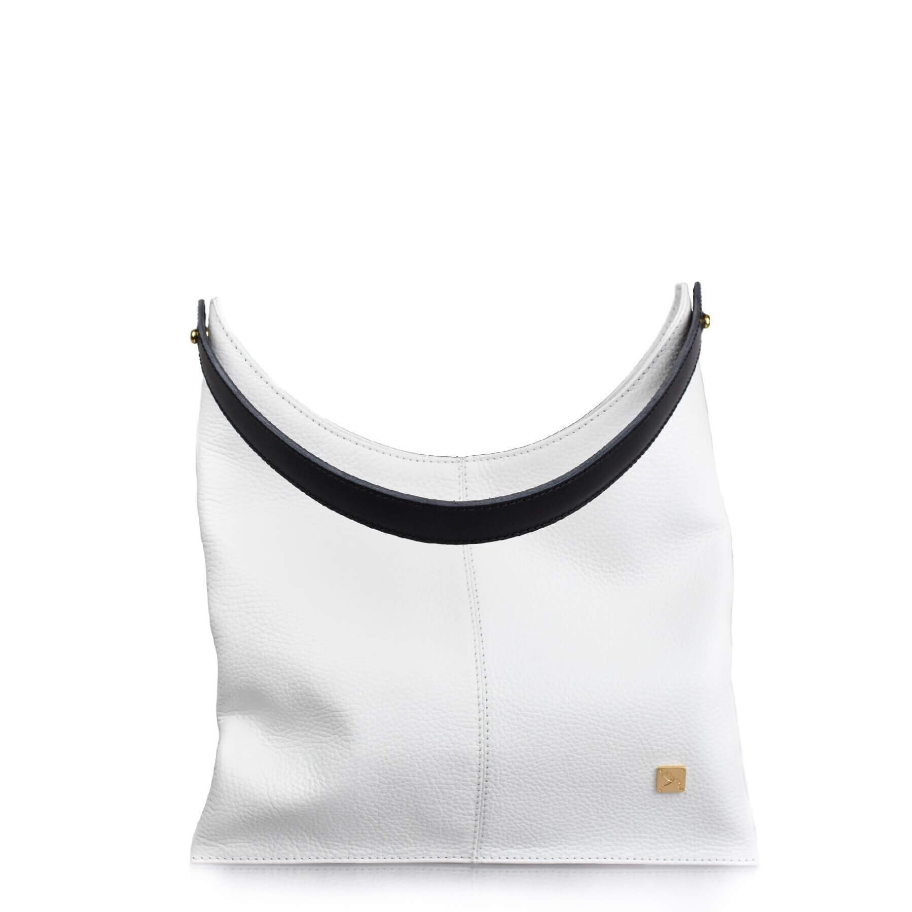 White Hobo Bag - Leather Handbags | TARA´S