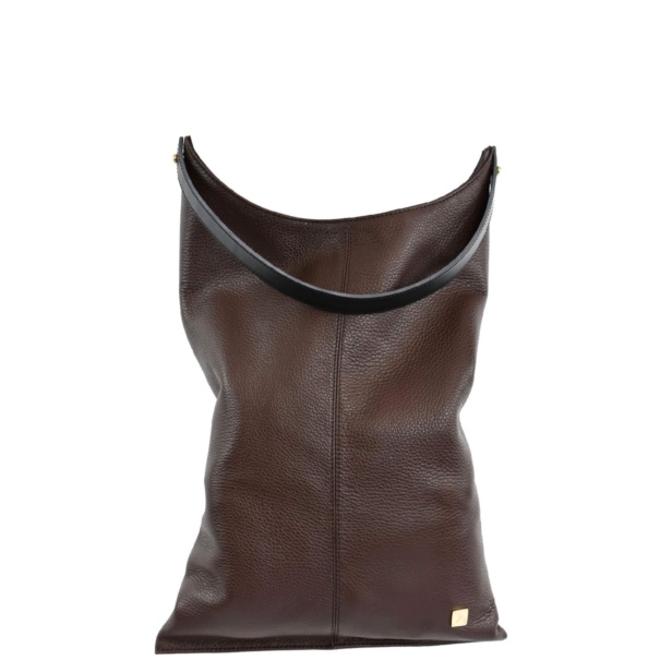 Chocolate Brown Large Hobo Bag - Leather Handbags | TARA´S