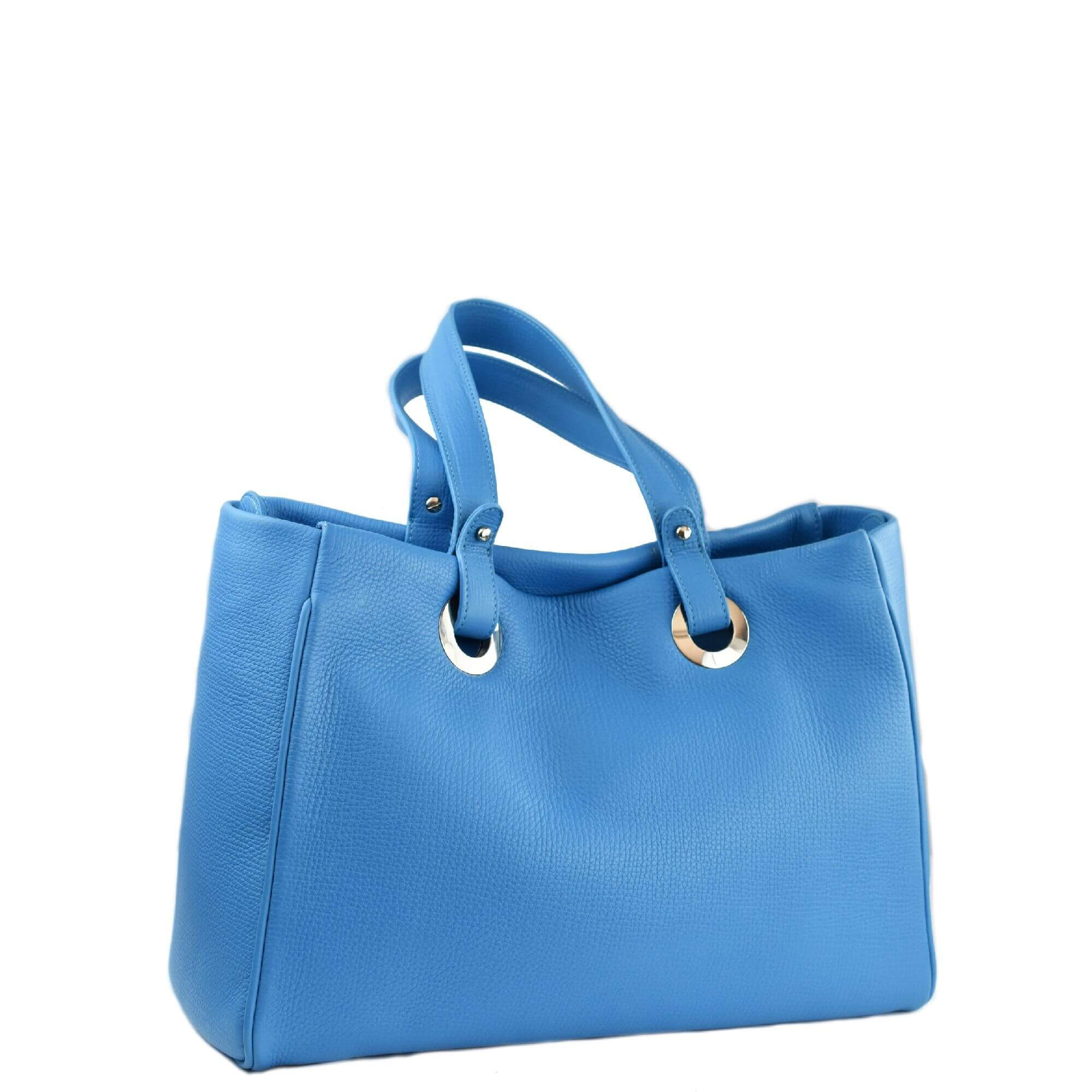 Madrid Handbag Tote Blue