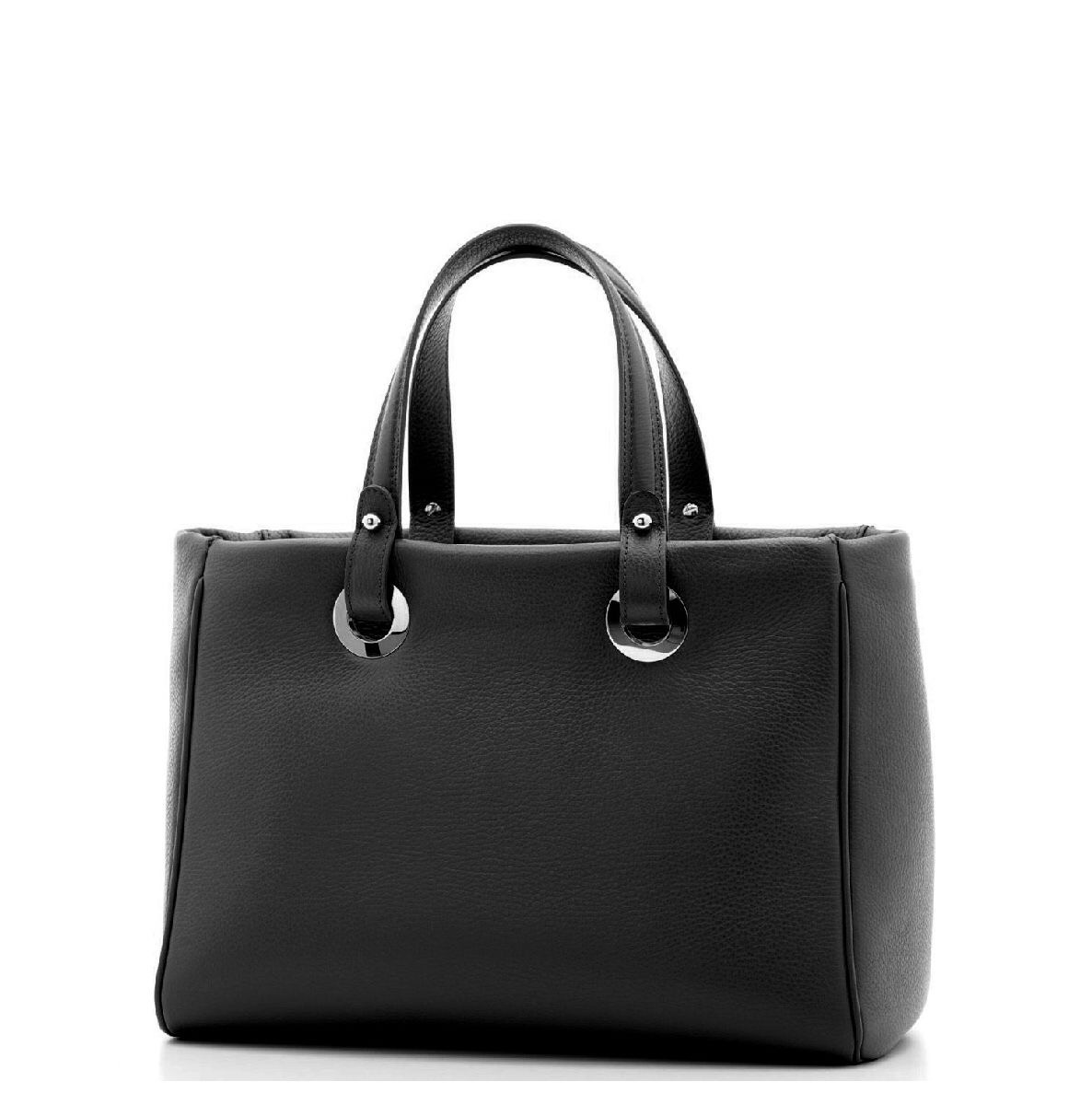 Madrid Handbag Tote Black Nkel