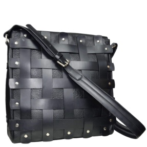 Black Crossbody Bag. Ares