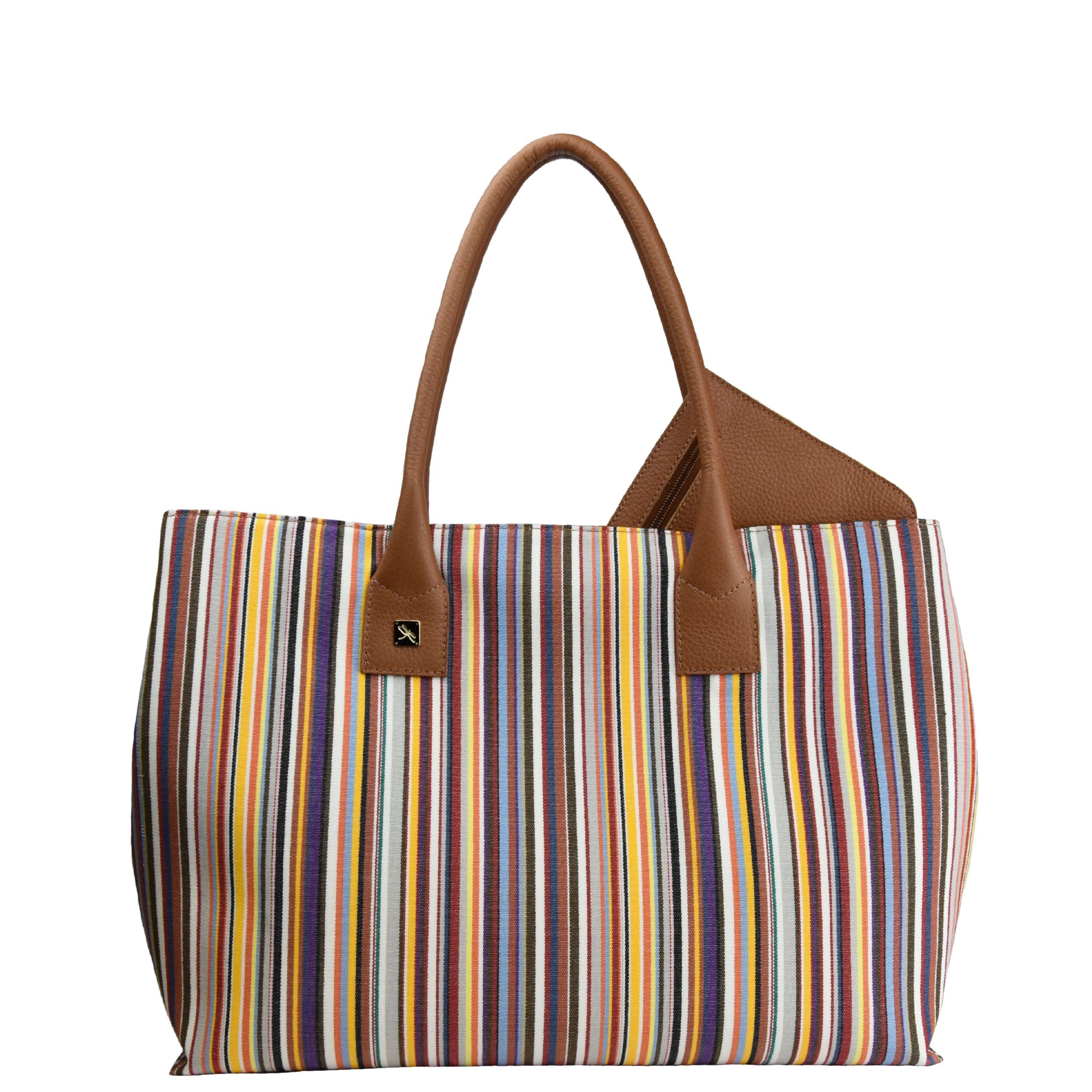 Natalia L Canvas Tote Bag