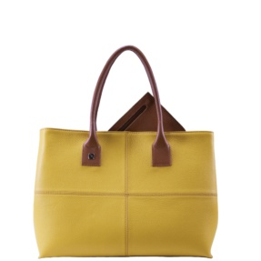 Natalia L Yellow Tote Bag