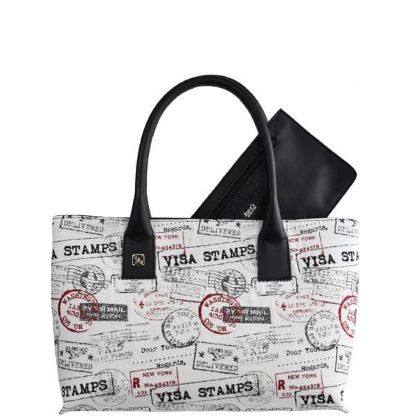 Canvas Tote HandBag - Leather Handbags | TARA´S