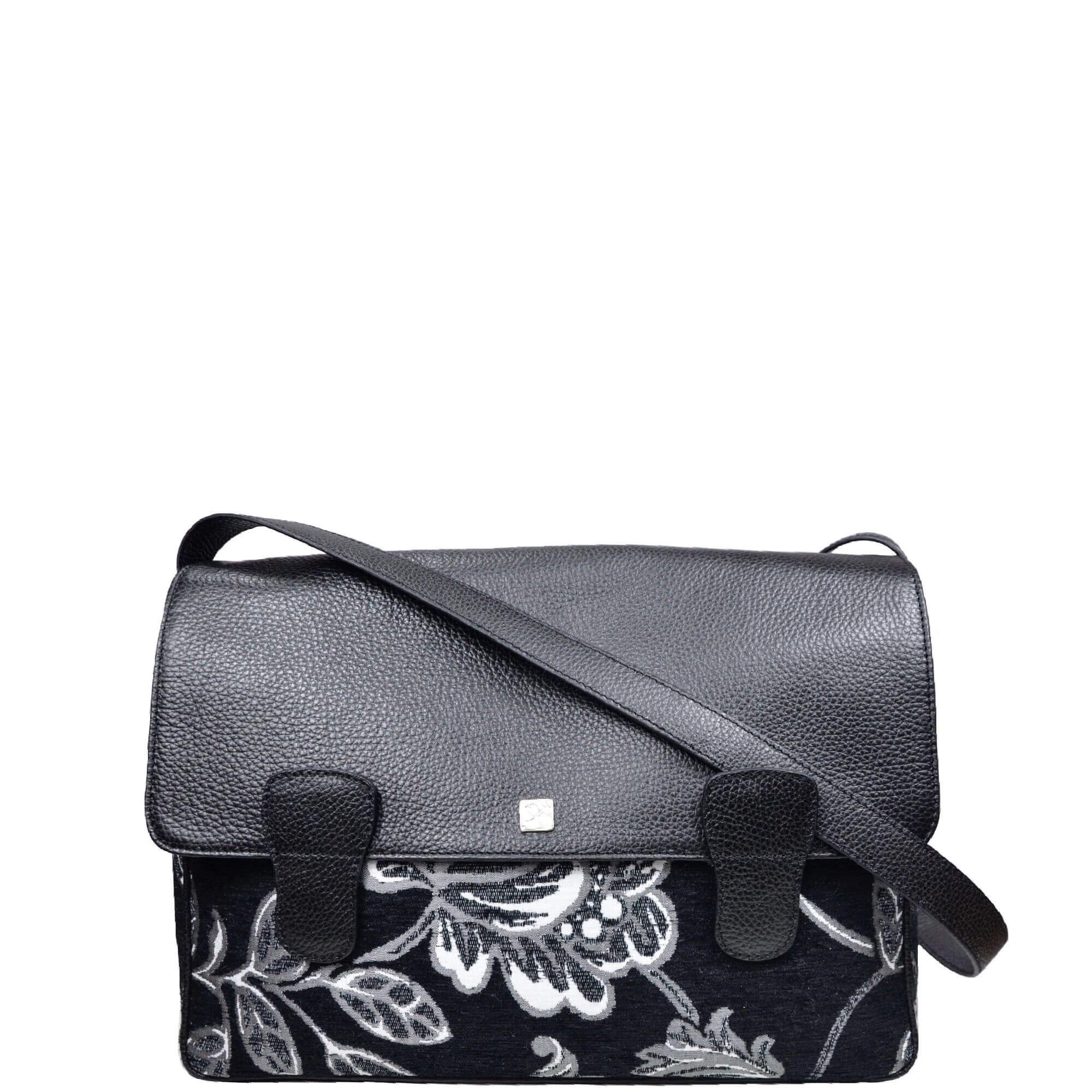 Flower Messenger Crossbody. Alexandra