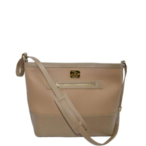 Beige Crossbody. Cancun