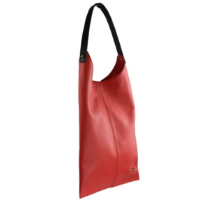 Red Leather Hobo Bag - Leather Handbags | TARA´S