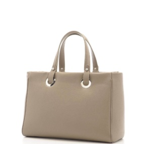 Bolso Tote Taupe. Madrid