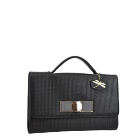 New York Black Clutch
