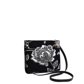 flower print crossbody