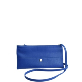blue small crossbody
