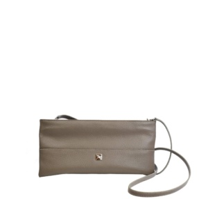 Mini Taupe Crossbody. Roma