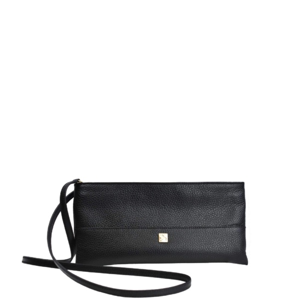 Mini Black Crossbody. Roma