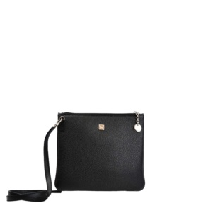 Black simple crossbody