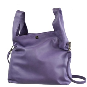Lavender Shopping Bag - Leather Handbags| TARA´S