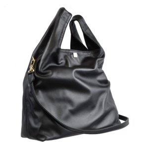 Black Shopping Bag - Leather Handbags| TARA´S