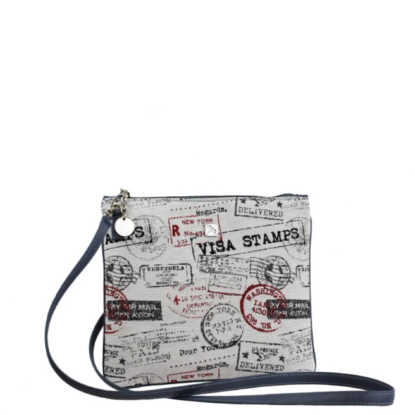 Canvas Crossbody Bag. Leather Bags | TARA´S