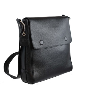 Black Shoulder Crossbody Bag. Pegaso