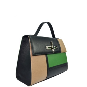NEW - Tricolor Tote handbag. Berlin L