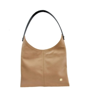 Beige Hobo Bag - Leather Handbags | TARA´S