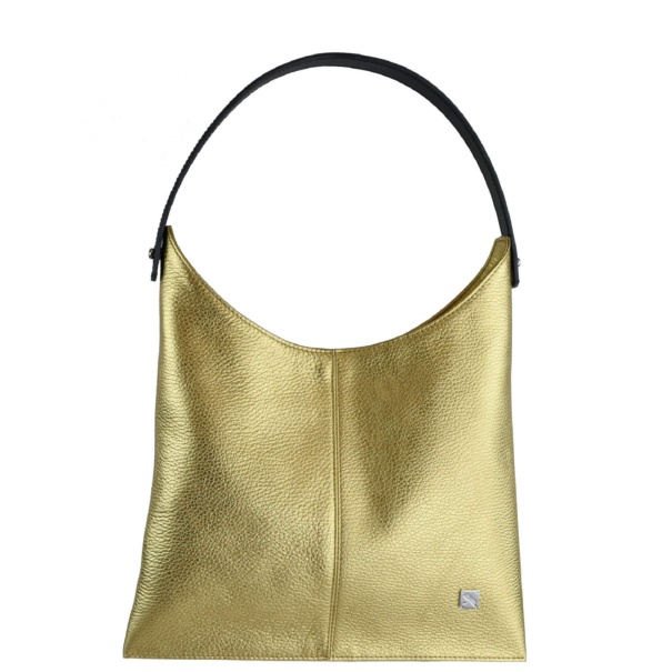 Gold Hobo Bag - Leather Handbags | TARA´S