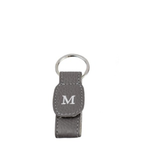 Personalized Mousse Leather Keyring