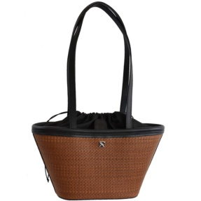 Brown Woven Mini Basket