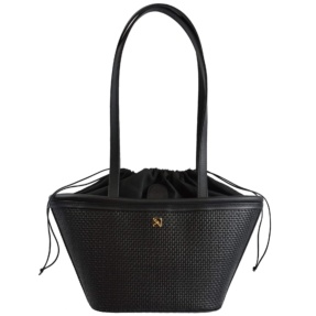 Black Woven Mini Basket
