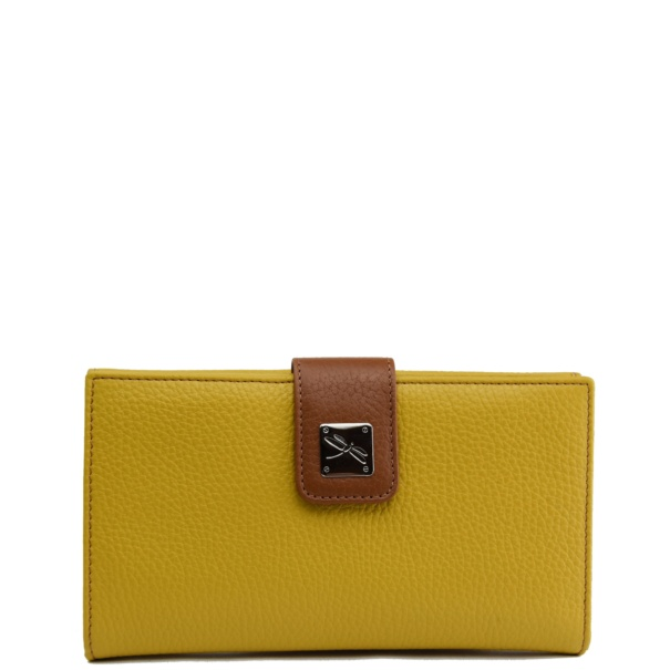 Leather Yellow Wallet
