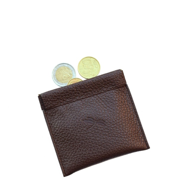 NEW - Brown coin pouch