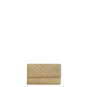 Leather Beige Wallet